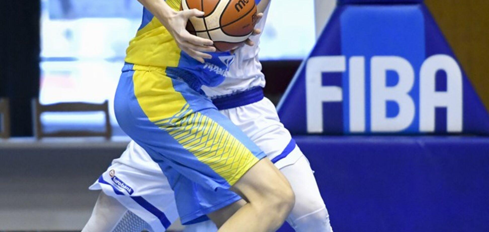 Украина – Венгрия: онлайн-видеотрансляция матча плей-офф Евробаскета U-16