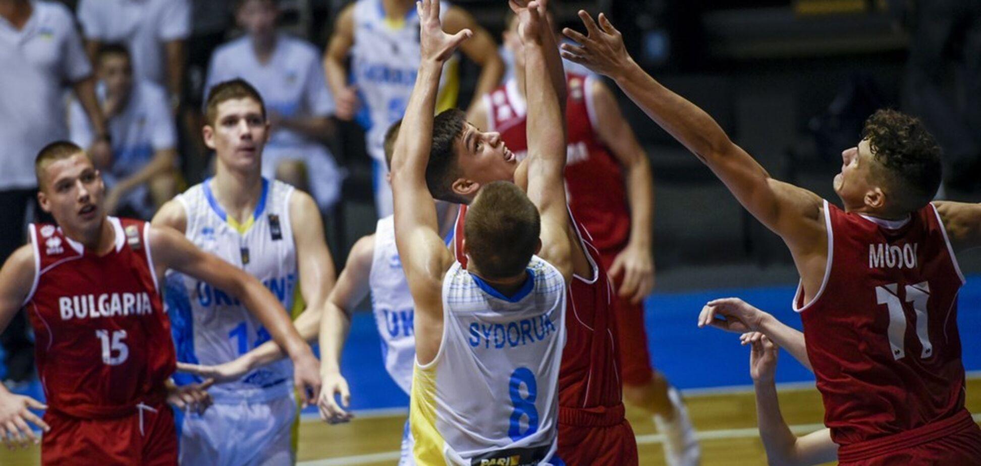 Кадетська збірна України з баскетболу