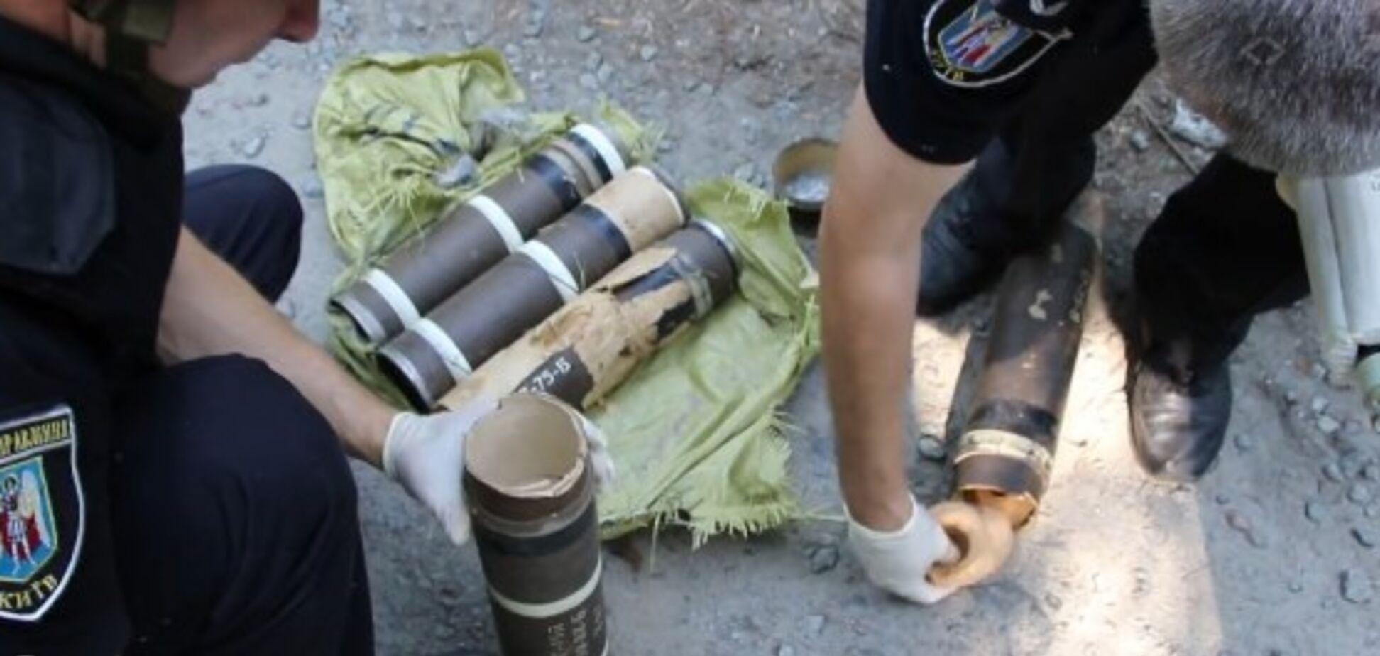 У популярному місця відпочинку Києва виявили вибухівку