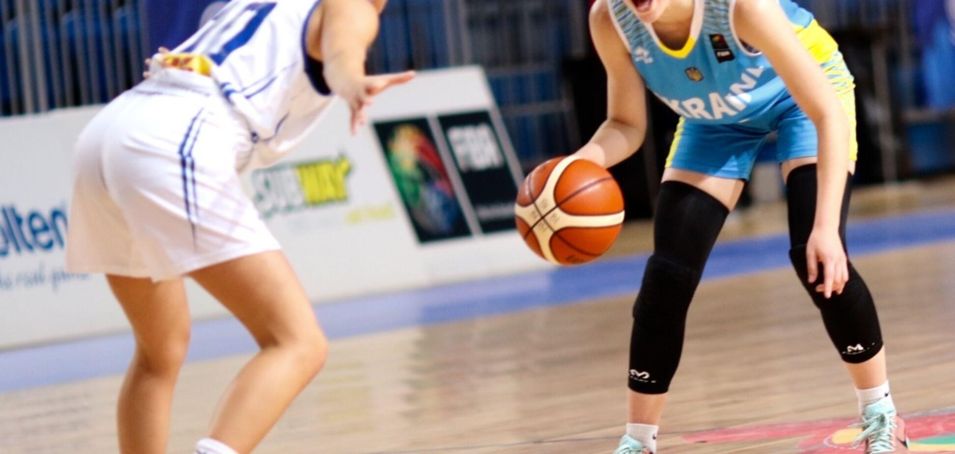 Сборная Украины добыла вторую победу на женском Евробаскете U-16