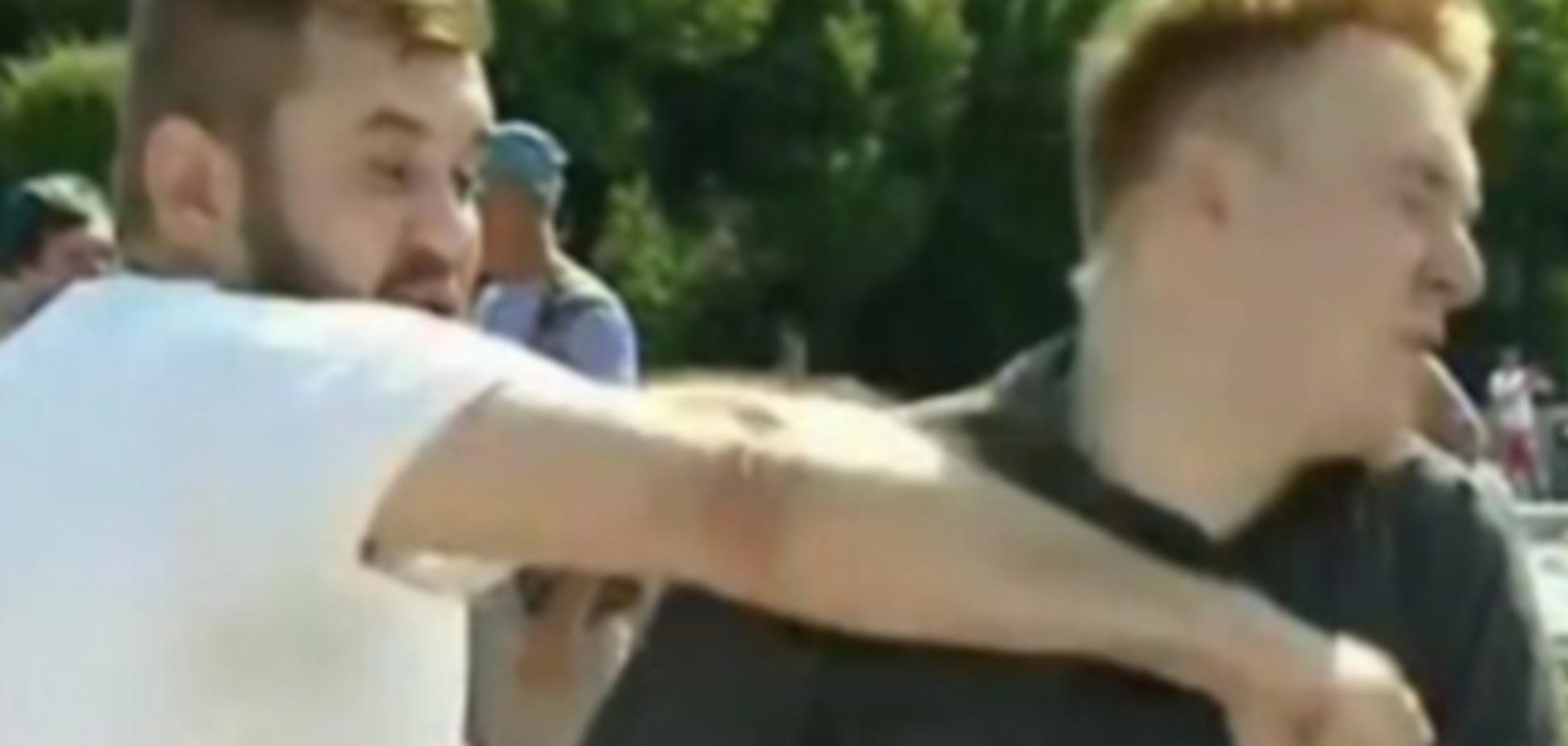 Избиение журналиста НТВ «ВДВшником»