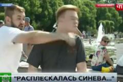 'Русский мир вернулся бумерангом': видео избиения кремлевского пропагандиста стало хитом