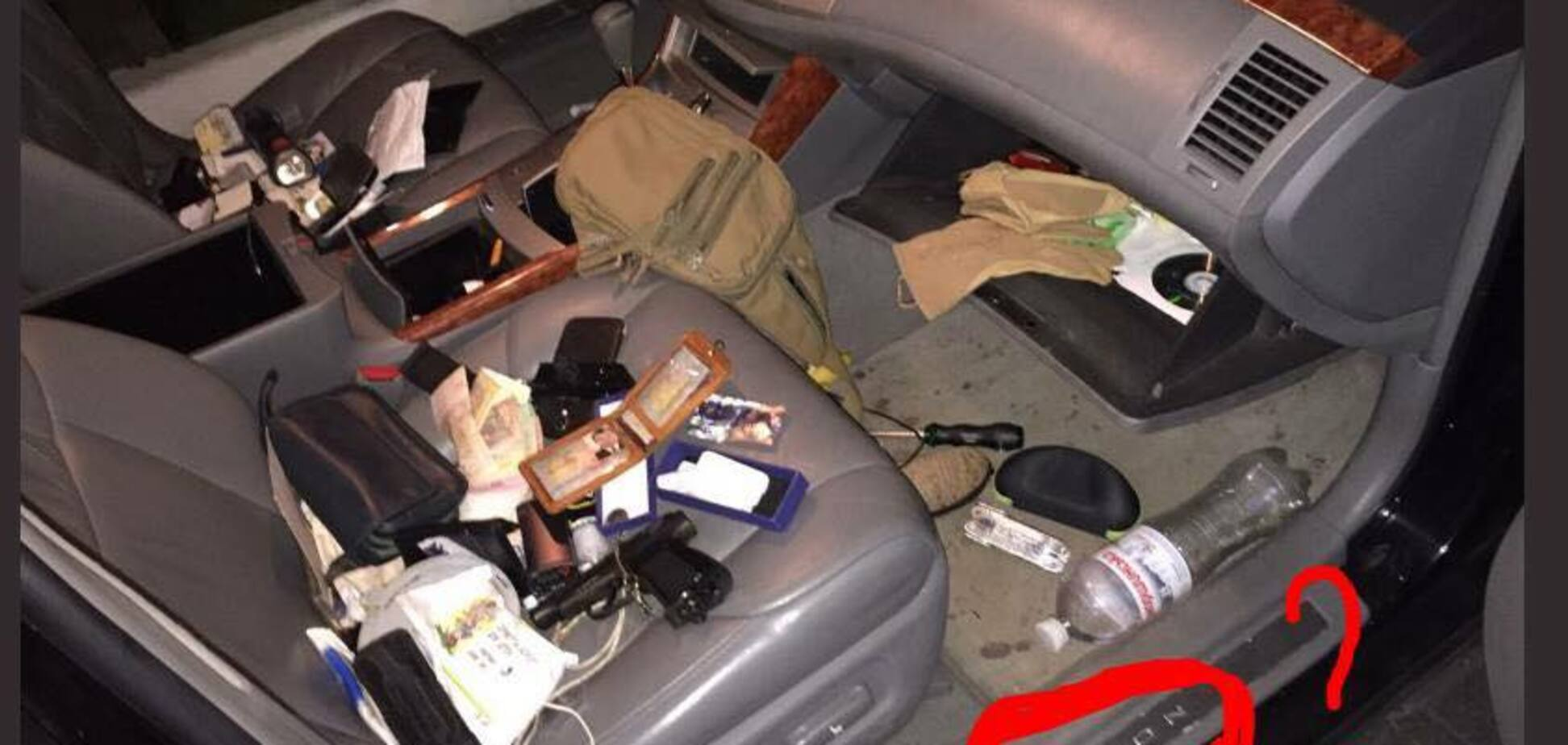 Скандал із викраденням авто українського віп-копа: у мережі знайшли дивні речі на фото