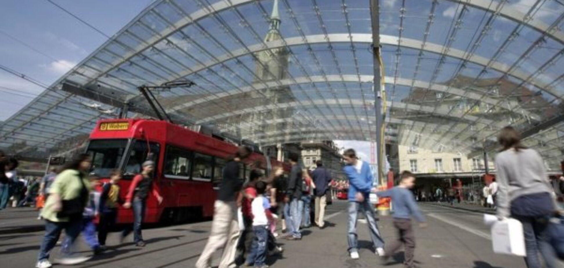 Вокзал у Швейцарії