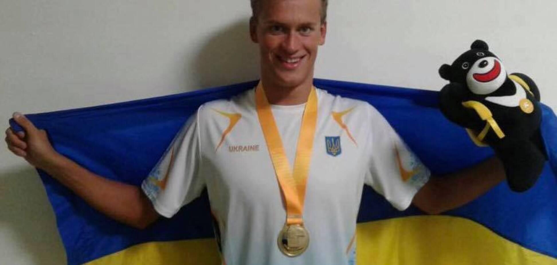 Український плавець з рекордом виграв 'золото' Універсіади-2017