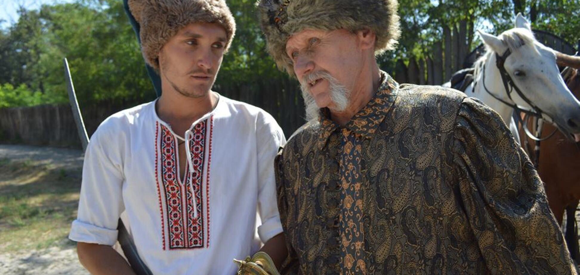 Интервью с главным казаком запорожского конного театра