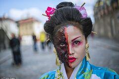 Парад зомбі в Стокгольмі
