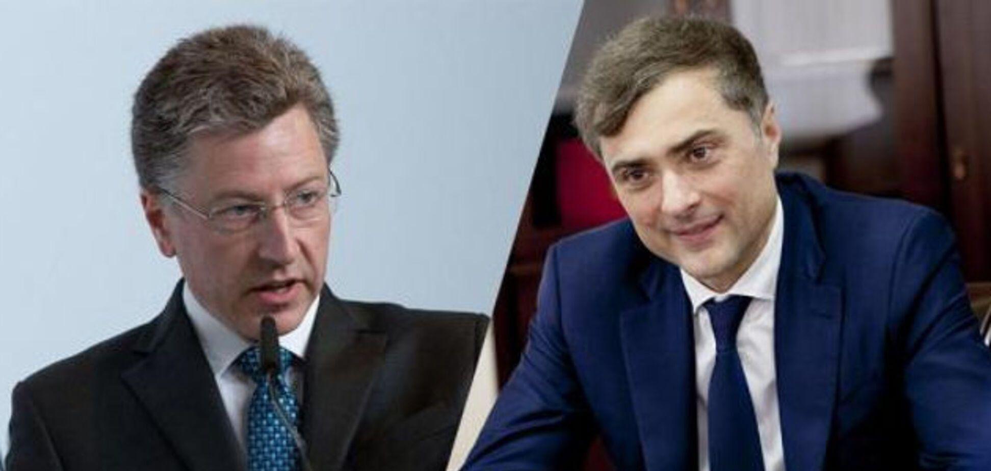 Говорили більше трьох годин: спливли деталі зустрічі Суркова і Волкера по Україні