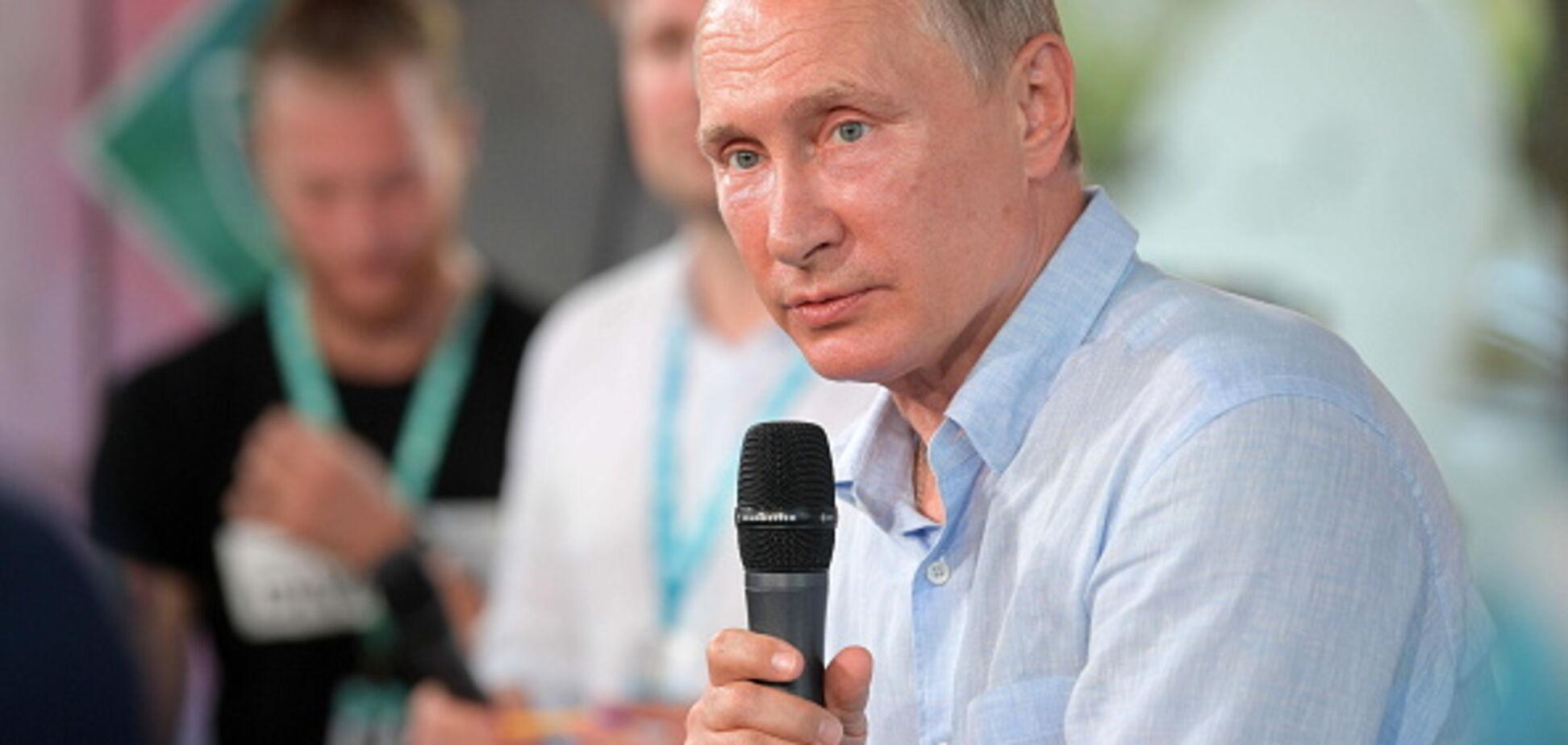 Путин выступил со сцены джазового фестиваля в оккупированном Крыму