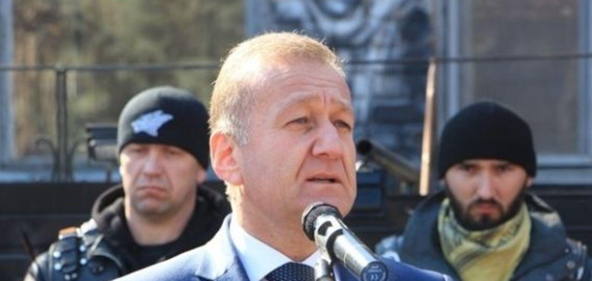 'Личная гвардия Путина':  'мэр' Луганска примкнул к опальному мотоклубу