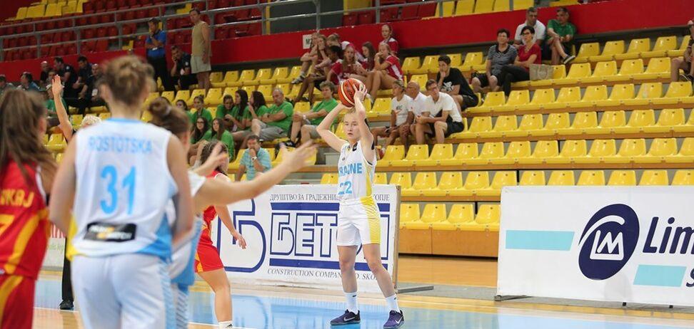 Юные украинки в роскошном стиле вышли в четвертьфинал Евробаскета-2017