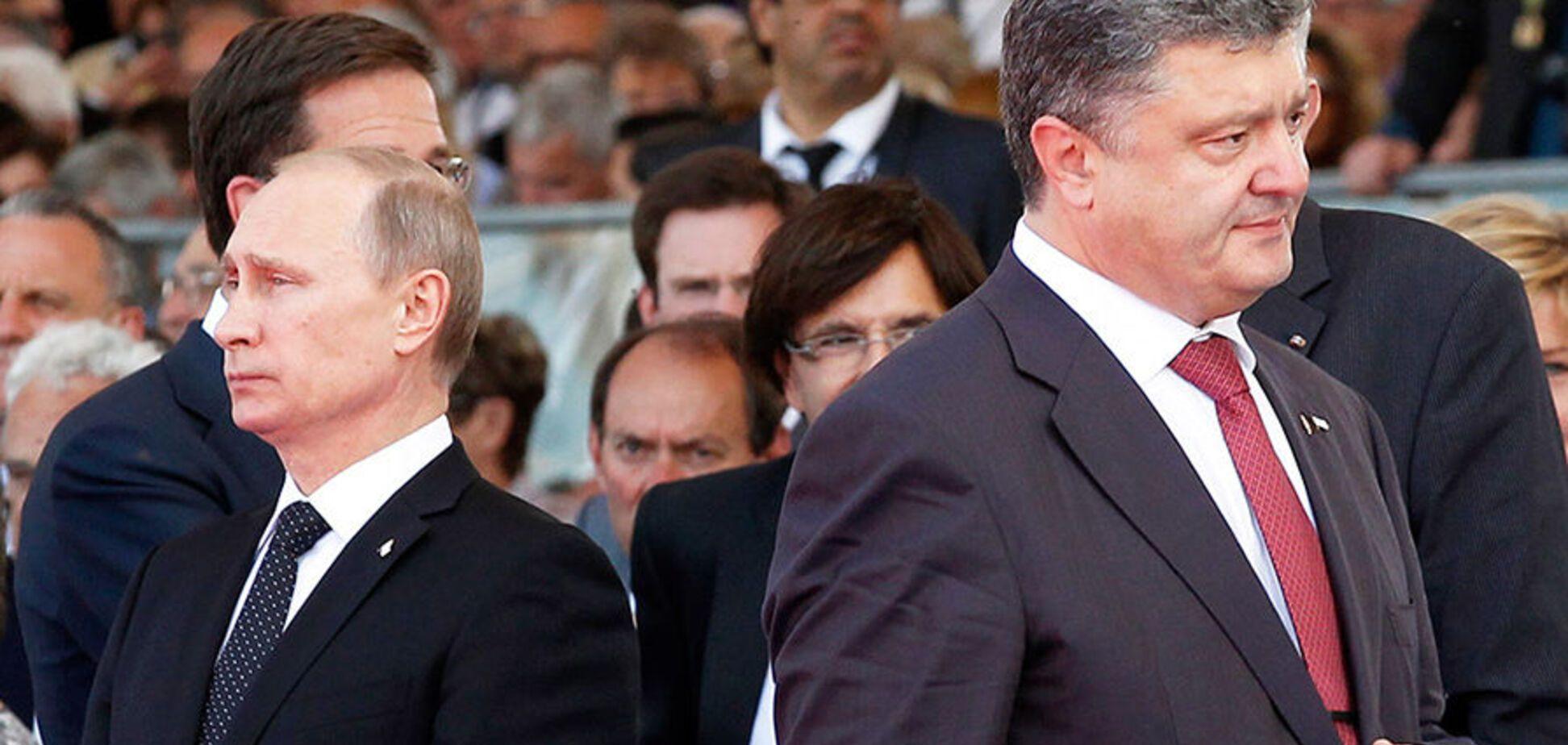 Порошенко провел переговоры с Путиным: стороны сделали заявление