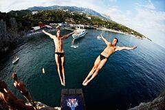 Прыжки в воду Крым