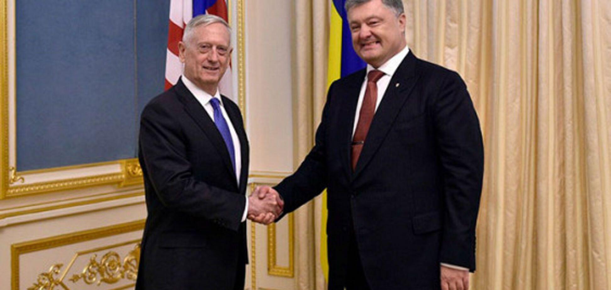 На сайте Пентагона об Украине