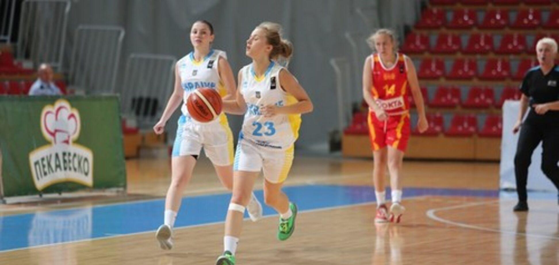 збірна України u16 баскетбол