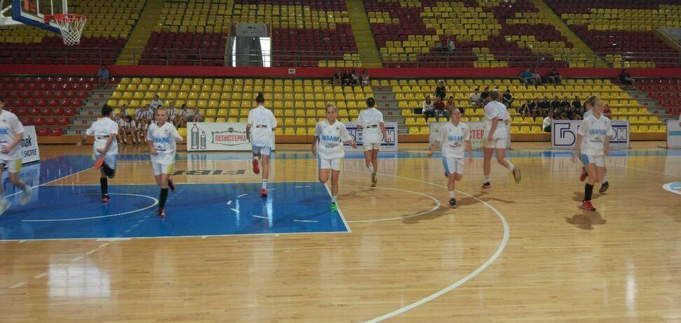 Сборная Украины проиграла решающий матч на Евробаскете U-16
