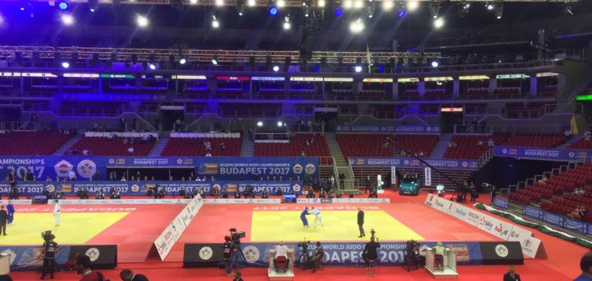 Путін влаштував переполох на чемпіонаті світу з дзюдо: фотофакт