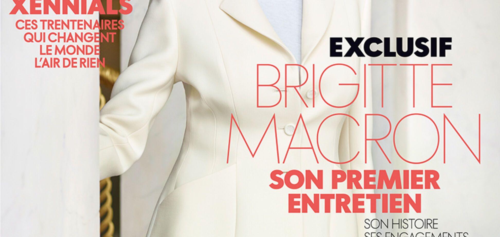 Дружина Макрона прикрасила обкладинку Elle: він одразу став головною сенсацією Франції