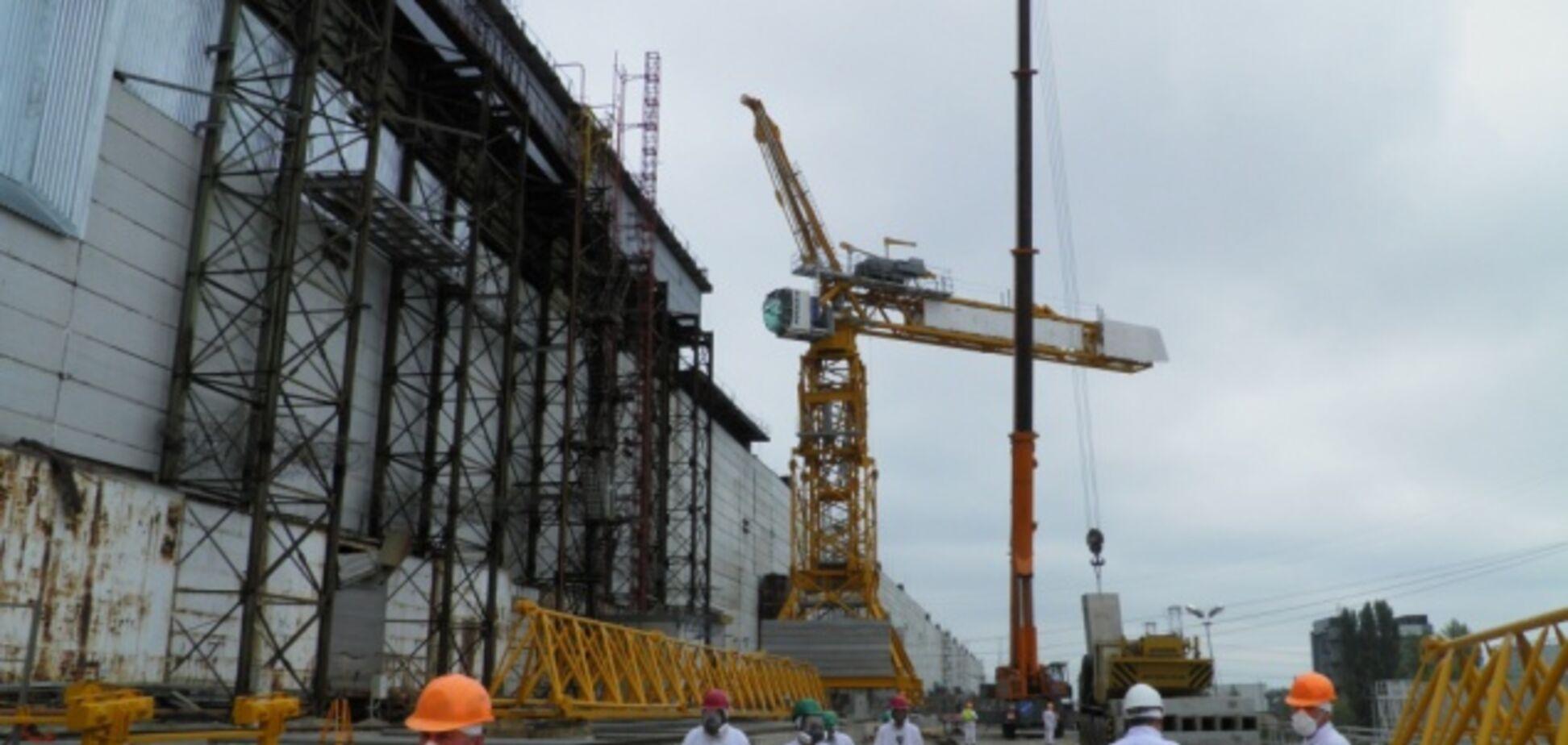 Руководителю компании, возводящей Арку на ЧАЭС, присвоили звание заслуженного строителя