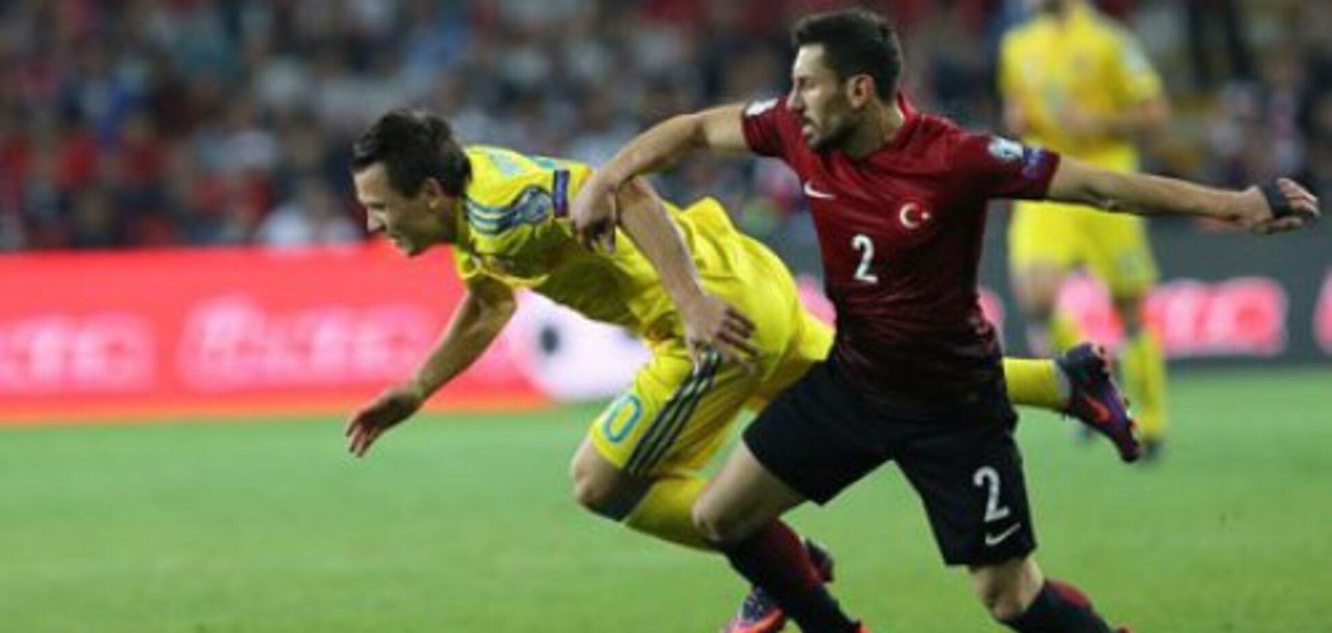 Україна - Туреччина: прогноз букмекерів на матч відбору ЧС-2018