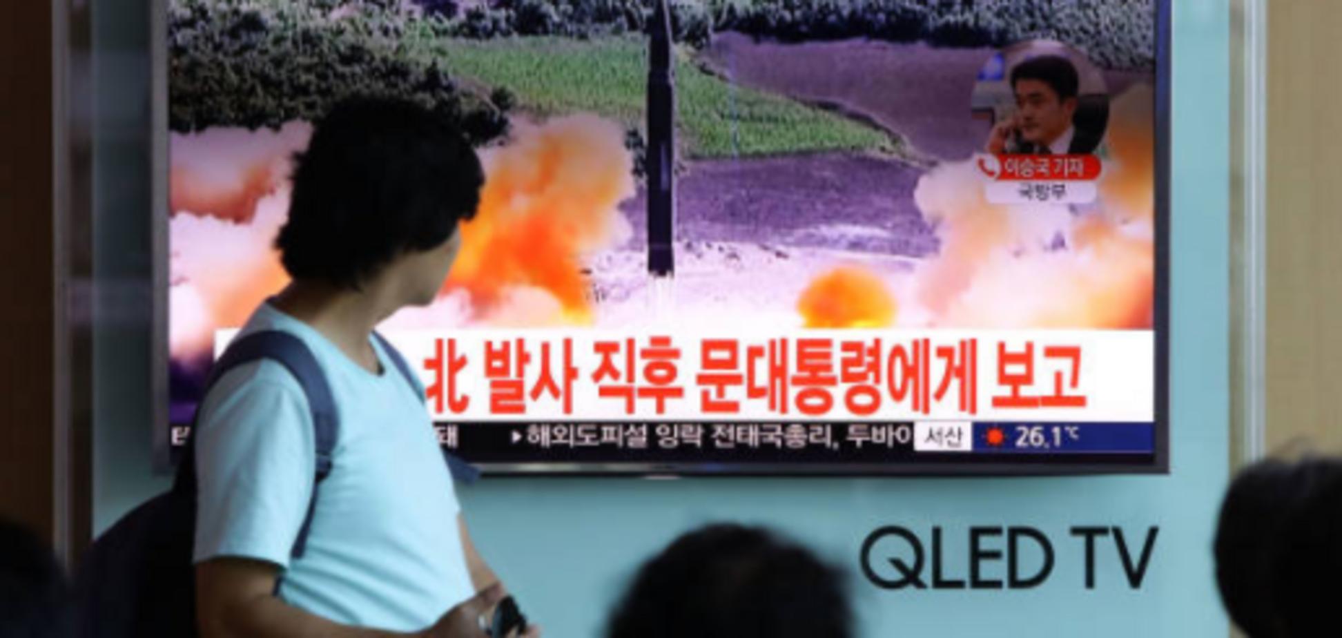 Пройшла через повітряний простір Японії: КНДР запустила ще одну ракету
