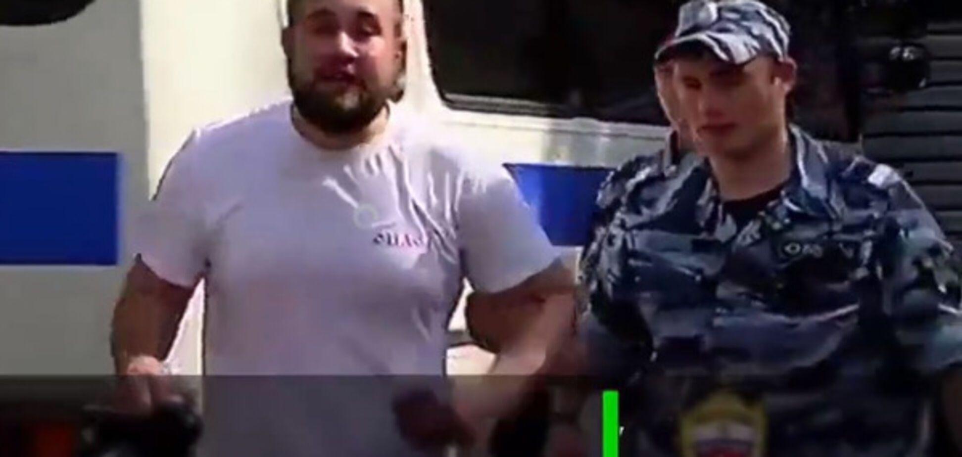 Нападение ВДВшника на журналиста НТВ