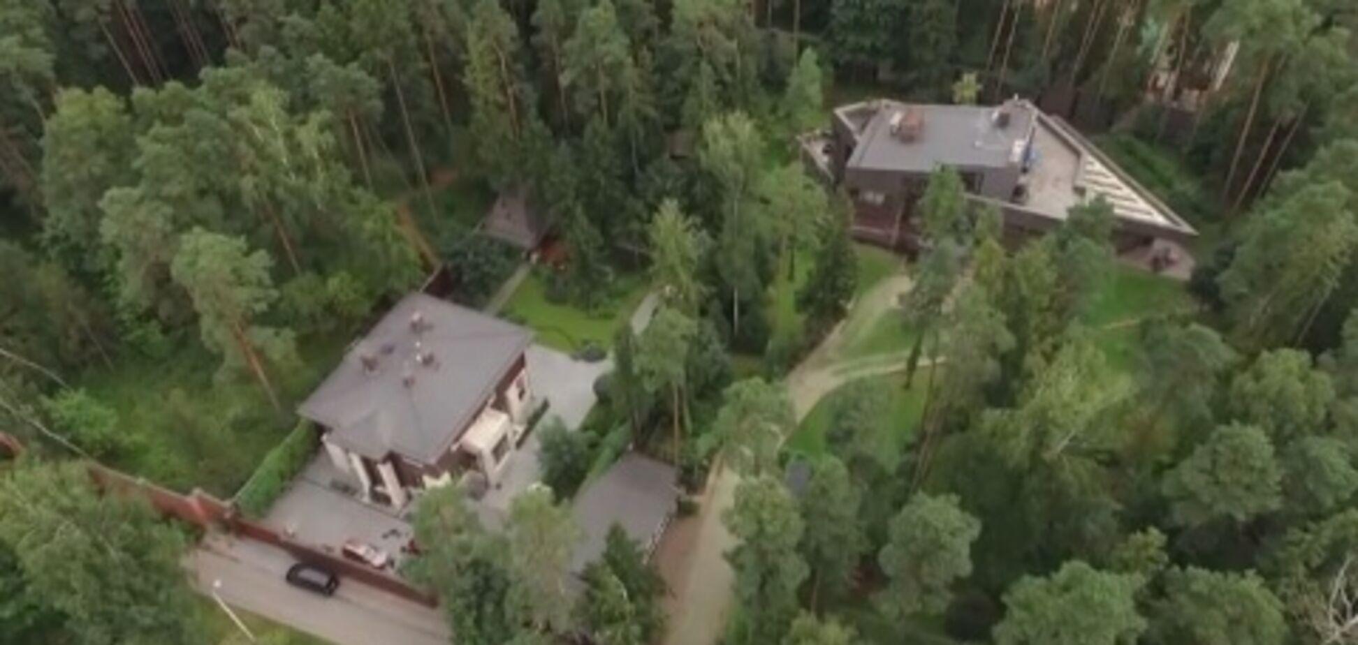 Зняли з висоти: таємний особняк Януковича в Підмосков'ї потрапив на відео