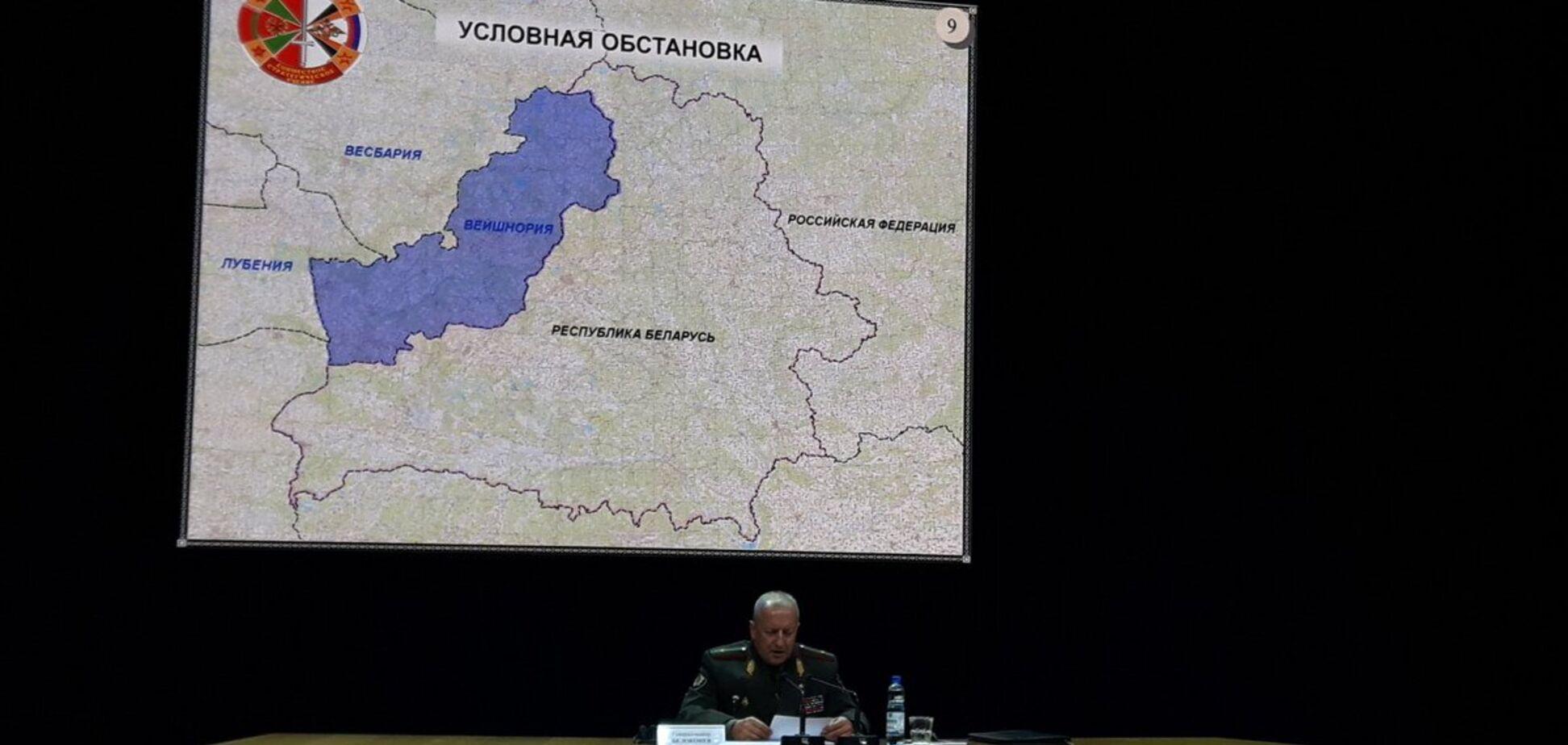 Учения 'Запад-2017': стало известно, с кем будет 'воевать' Россия в Беларуси