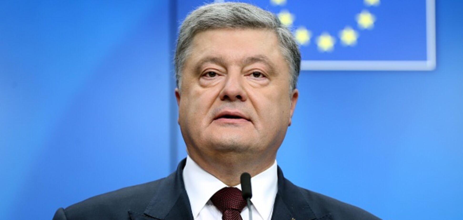 'Уже в НАТО и ЕС': у Порошенко возмутились заявлением президента Еврокомиссии относительно Украины