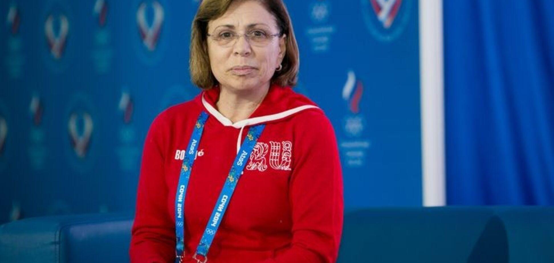 В базу 'Миротворца' попала легендарная олимпийская чемпионка