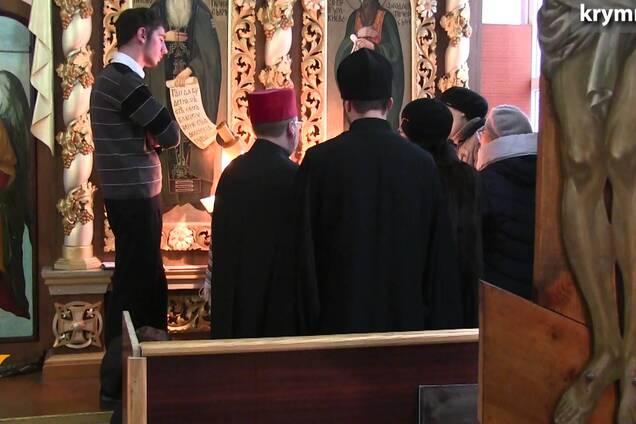 Оккупанты в Крыму заблокировали храм Киевского патриархата