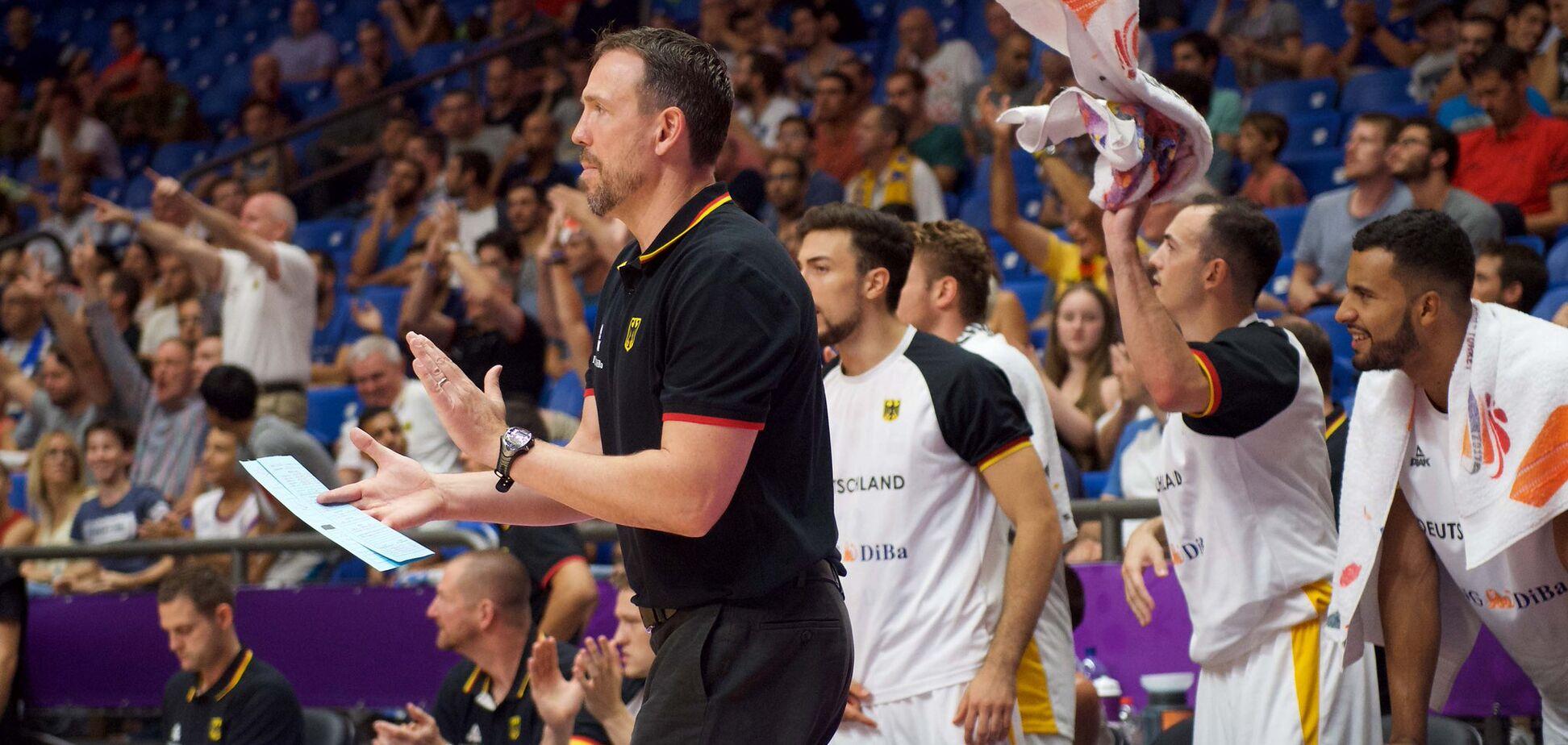 'Отличная работа!' Тренер Германии рассказал, в чем проиграл Украине на Евробаскете-2017