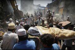 В Мумбаи обрушилось здание: есть жертвы и пострадавшие