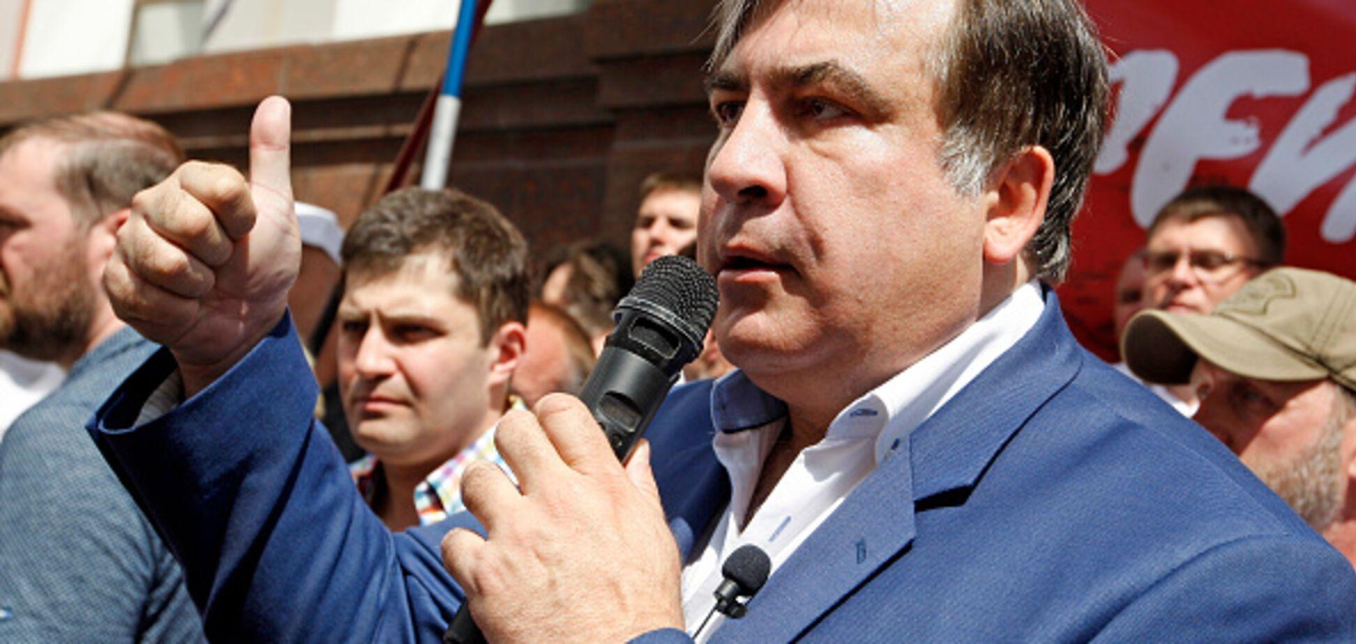 'Верьте не словам, а делу': в Грузии развенчали 'победы' Саакашвили над коррупцией