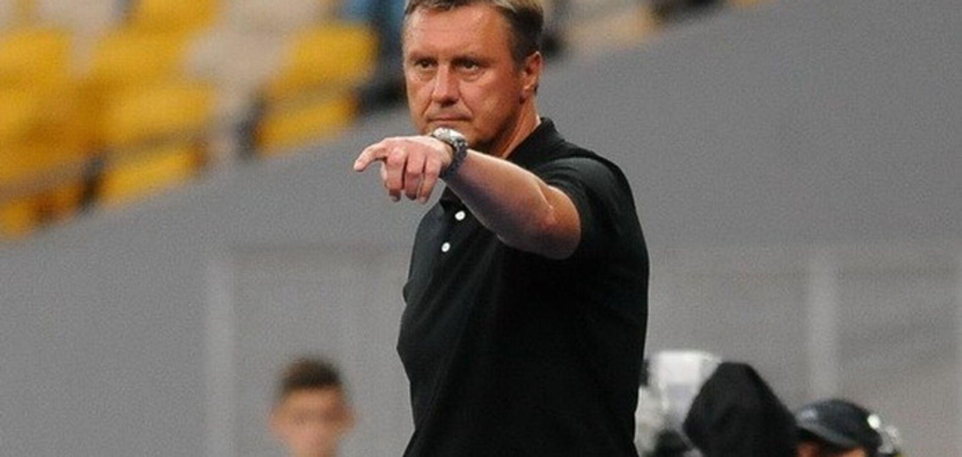 'Это трагедия': Хацкевич откровенно рассказал о состоянии футболистов 'Динамо' после вылета из Лиги чемпионов