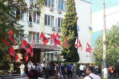 Профсоюзы сорвали заседание НКРЭКУ, чтобы не допустить введения абонплаты за газ