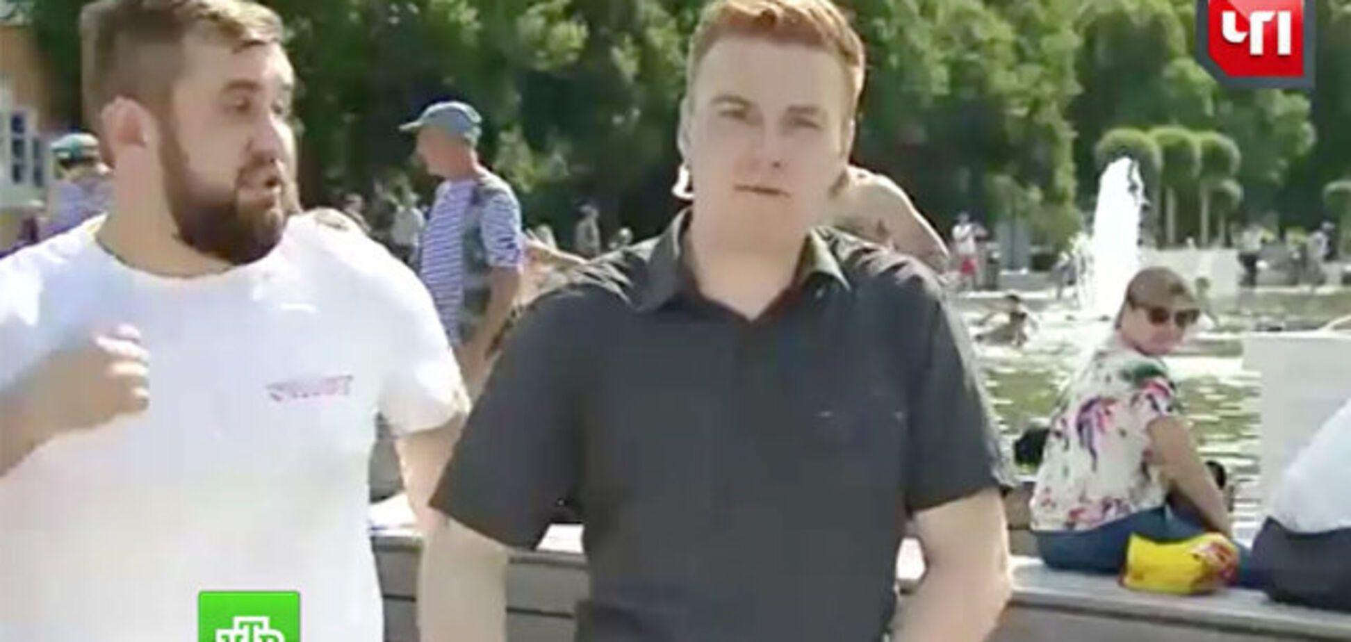 Избиение журналиста НТВ в прямом эфире: принято внезапное решение по 'оплотовцу'