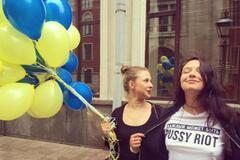 Мария Алехина и Ольга Борисова