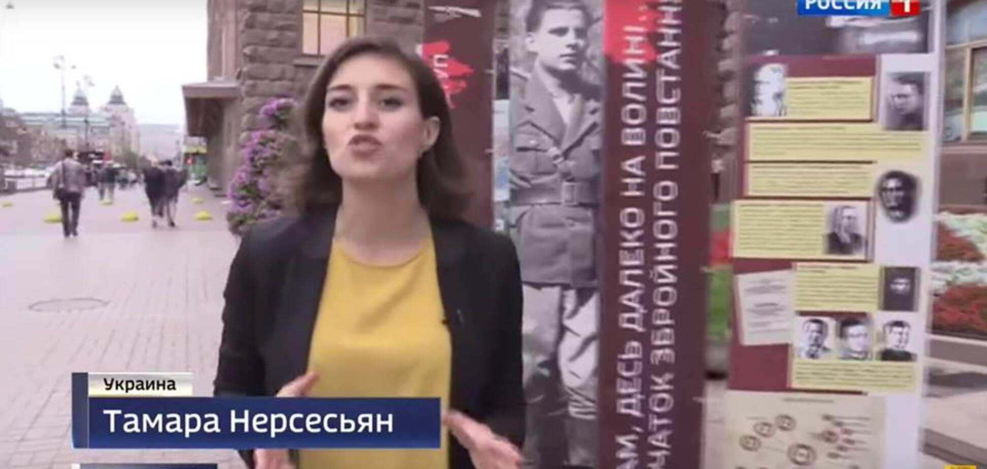 'Одна з найпекельніших свиней фабрики брехні': пропагандистка Кремля в Києві розгнівала мережу
