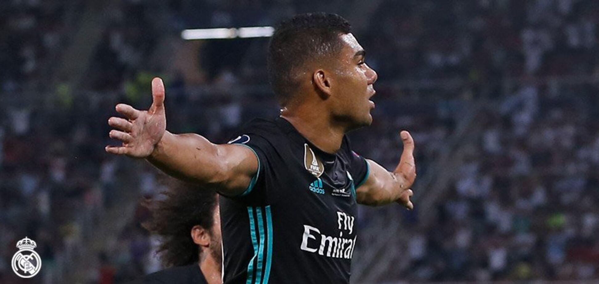 'Реал' обіграв 'Манчестер Юнайтед' і завоював Суперкубок УЄФА
