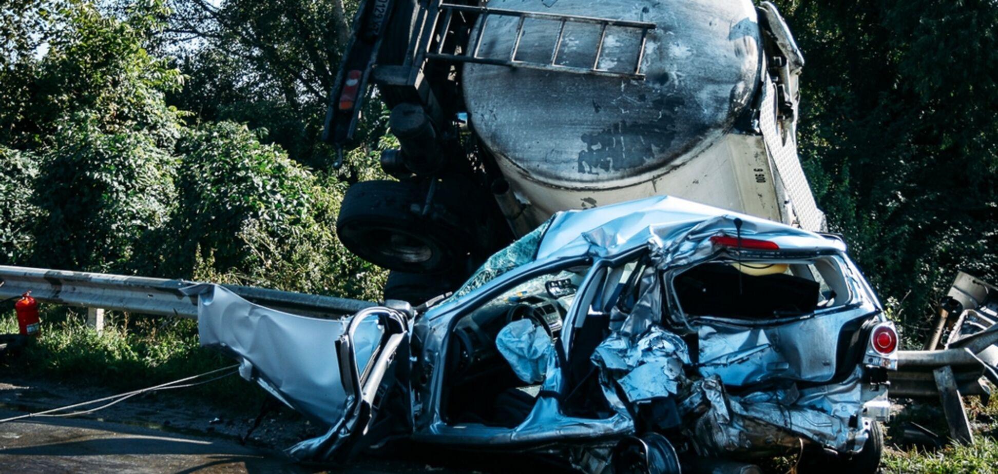В Тернополе произошло смертельное ДТП: опубликовано жуткое видео