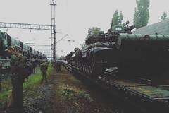Російські танки недалеко від кордонів України: з'явилося нове фото