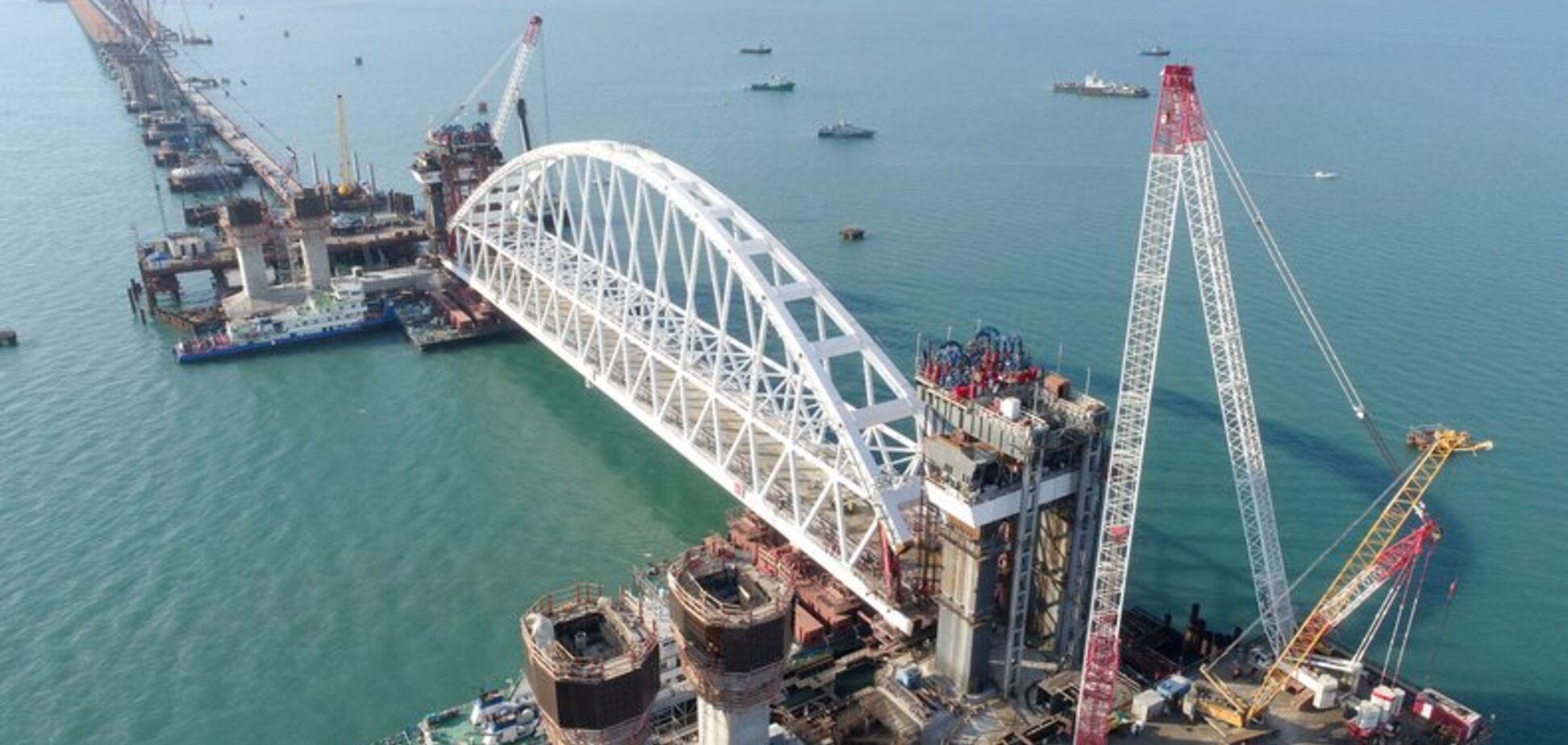 Росія вийшла на фініш у будівництві Керченського мосту - The Guardian
