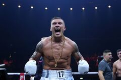 Заради України! Як Усик стартував у боксерській Лізі чемпіонів