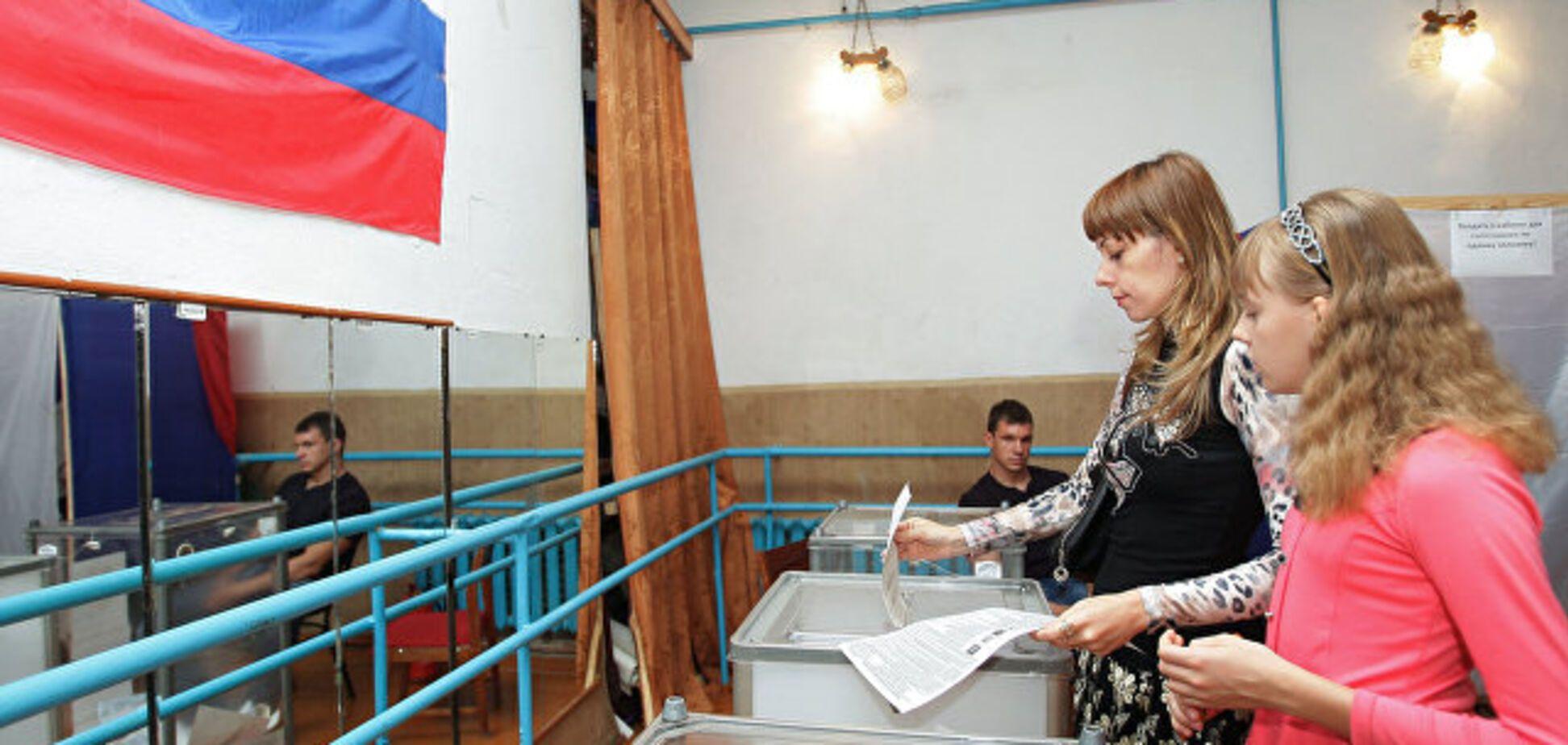 Фейковые выборы в аннексированном Крыму