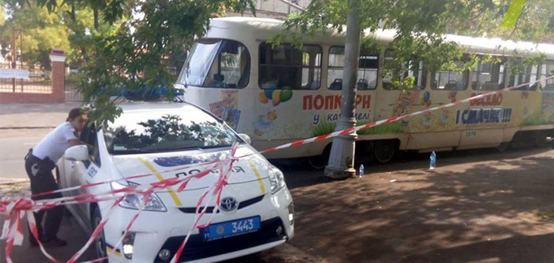 В Одессе трамвай отрезал девушке ноги: опубликованы фото