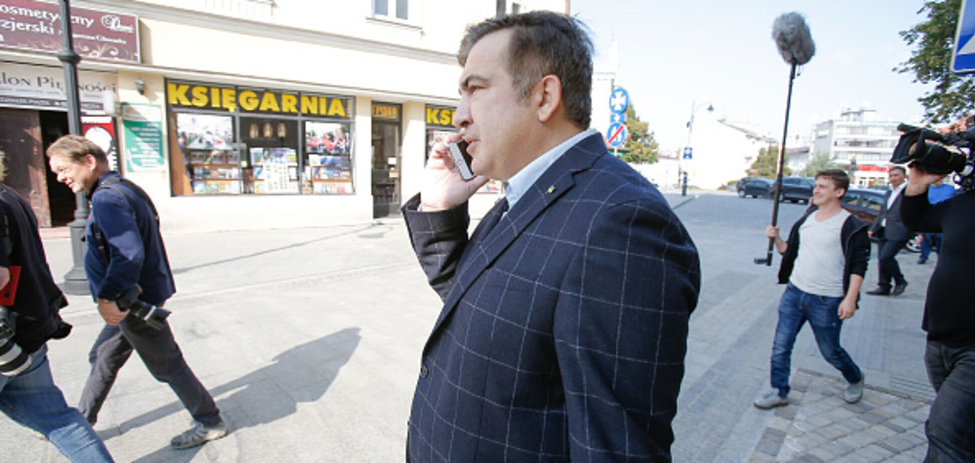 Прорив кордону Саакашвілі: Аваков пояснив, чому поліція не застосувала силу