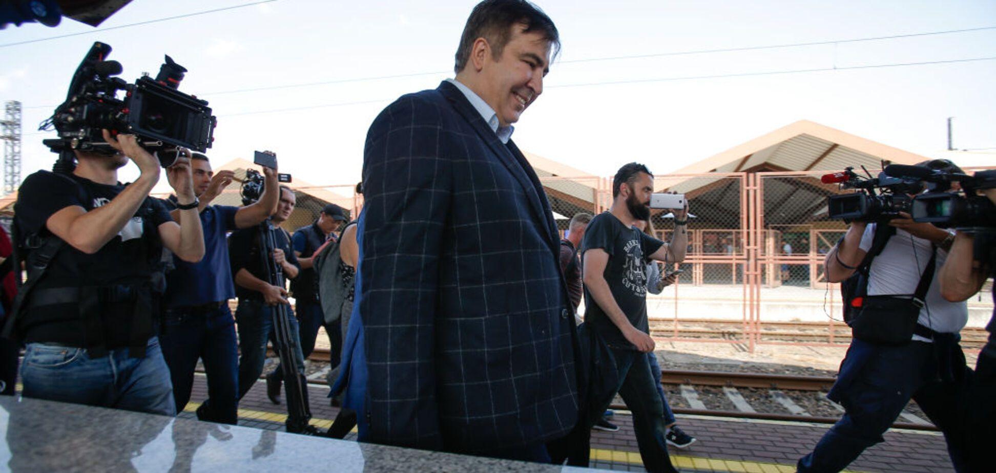 'Это тяжелая статья': Аваков прокомментировал прорыв Саакашвили через границу