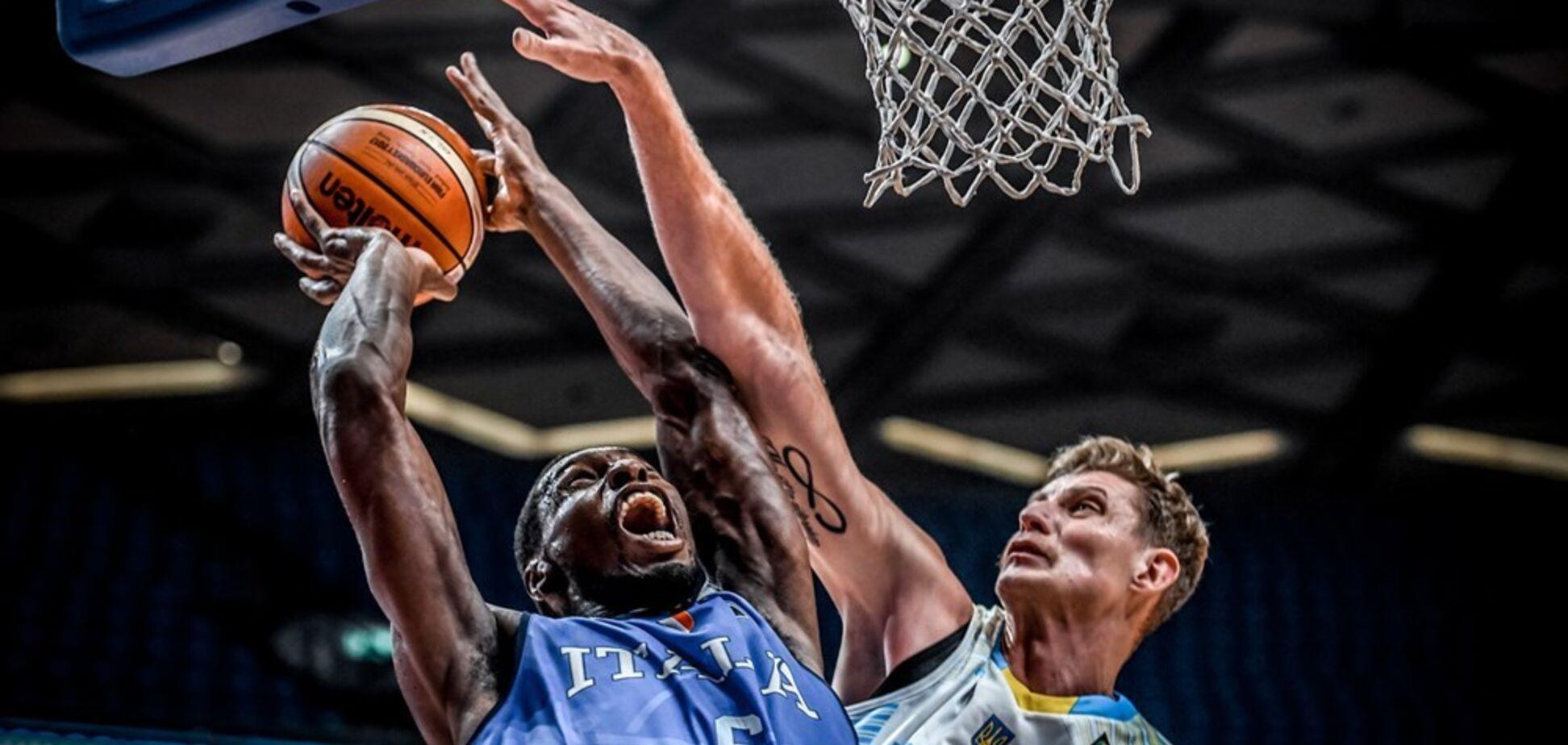 Україна Італія баскетбол