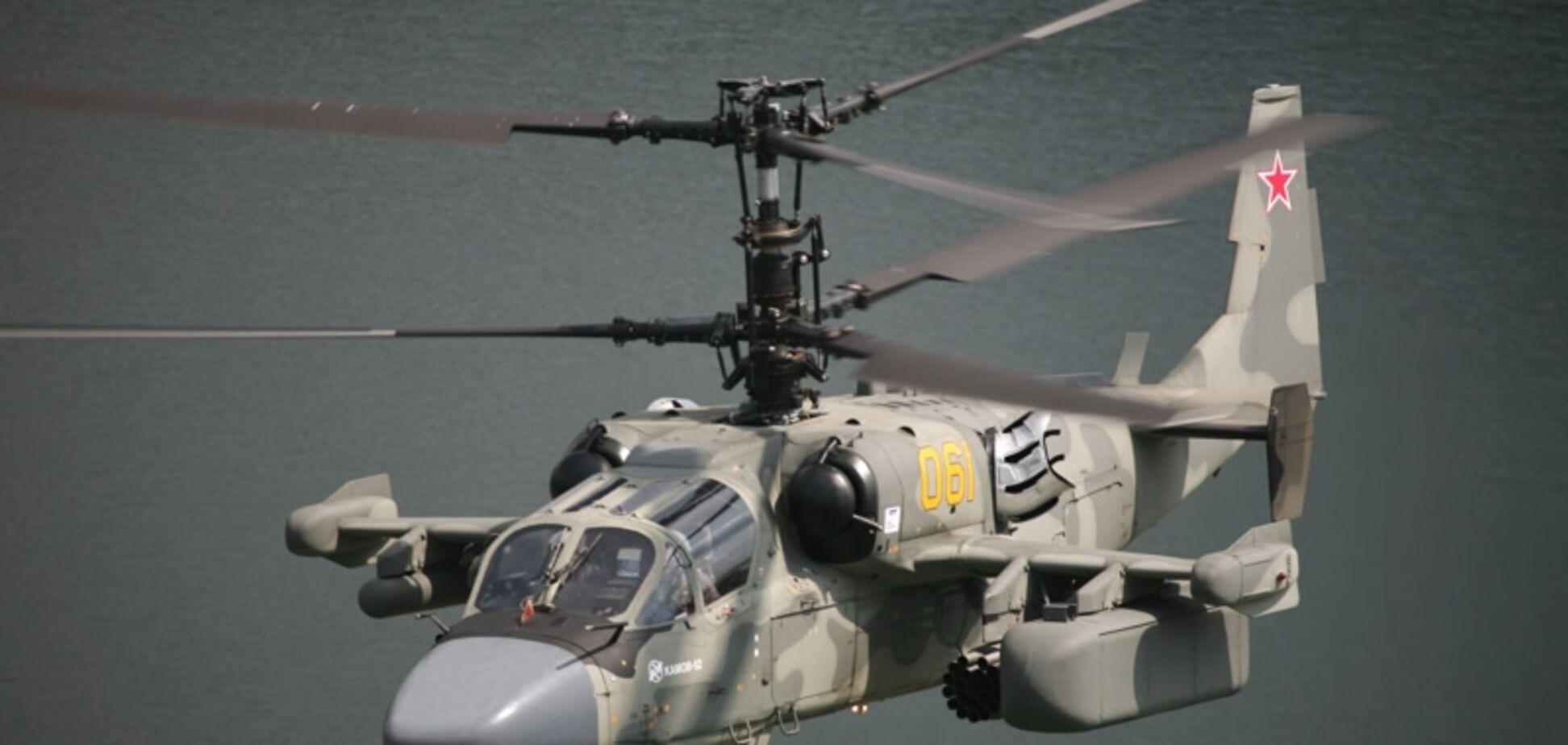 Російський вертоліт засікли на території України: провокацію зняли на відео